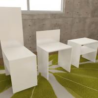 カラーボックス椅子の作り方