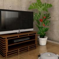 デザイン性が高いすのこテレビ台の作り方