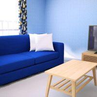 青い部屋の差し色9パターンをチェック
