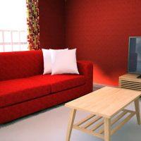 赤い部屋の差し色9パターンをチェック