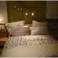 IKEAな北欧スタイルの寝室