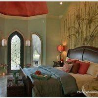 ヨーロピアンな寝室