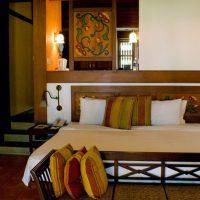 インドのホテルのインテリアコーディネート