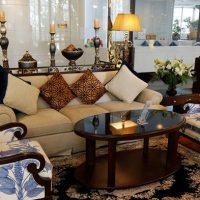 タイのホテルのインテリアコーディネート