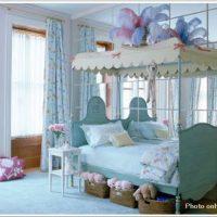 モコモコやわらかそうな子供部屋のベッド