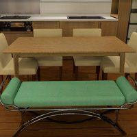 ダイニングチェアとベンチソファ・長椅子を組み合わせる