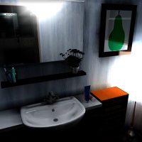 洗面所の照明アドバイス