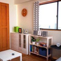 6万円程度で作る学生向けリーズナブルでコンパクトな部屋