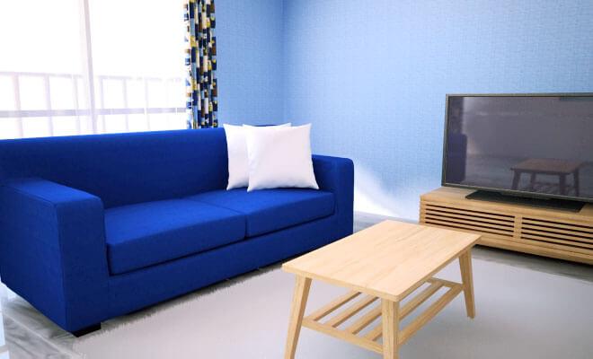 やっぱ青インテリアコーディネートをブルー基調でまとめた部屋12選