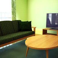 緑色部屋の差し色イメージ8パターン