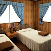 8畳寝室のレイアウト例