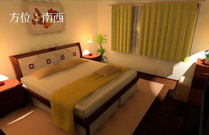 寝室の風水インテリア 間取りやベッドの配置方角 運びを良くする風水