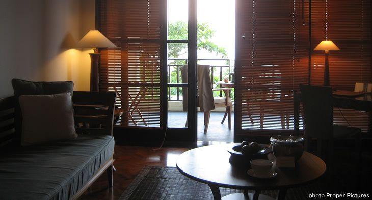 インドネシアのホテルのインテリアコーディネート