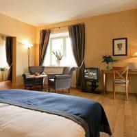 スイスのホテルのインテリアコーディネート