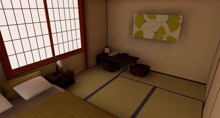 san francisco c0490 3a01a 和室にベッドを配置して寝室に模様替えする - インテリアハート