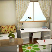手作りカラーボックス家具を使いまくった子供部屋のインテリア例