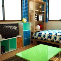 リーズナブル家具で作る男の子向け子供部屋のインテリア
