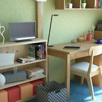 小中学生向けに6畳和室を子供部屋としてコーディネート例Part1