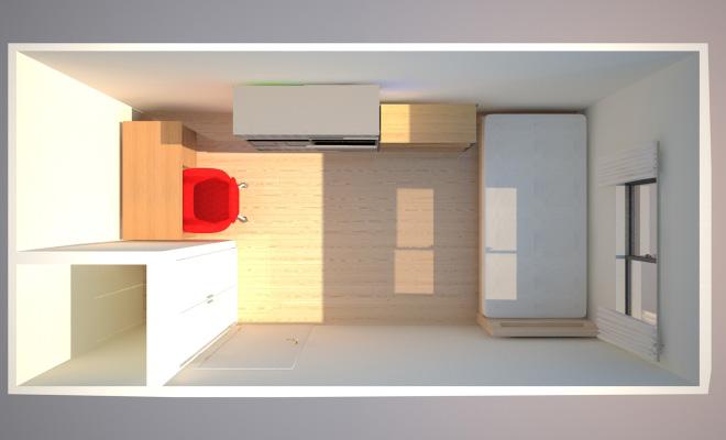 5畳の狭い子供部屋のレイアウトアイデア3パターン 子供部屋の
