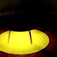 ローテーブルやダイニングテーブルをライトアップ