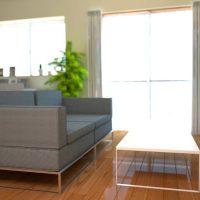 【床色検証】オーク色の床のリビングに合うインテリア