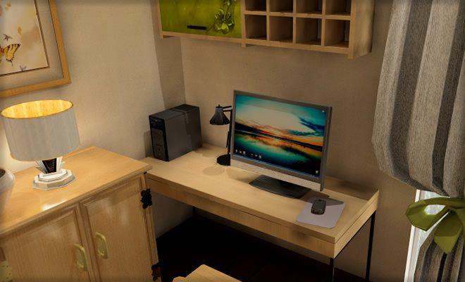 15畳リビングにパソコン置き場を配置するアイデア Ã�ビングのコーディネート&レイアウト