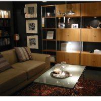 IKEAのディスプレイに見るシックなリビングルーム