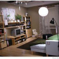 IKEA家具のあるリビングルーム4点