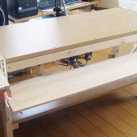 介護にも使えるDIYで作った食台兼多目的テーブル