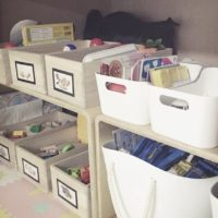 田の字型マンションのリビング隣の和室を子供部屋に