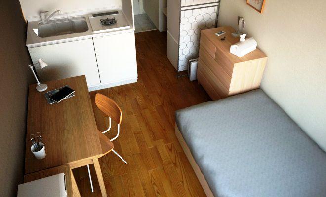 一人暮らしの部屋作りに役立つワンルーム1kのレイアウト