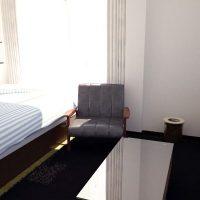 狭い6畳1Kをキュービック家具+パーティションで機能的に